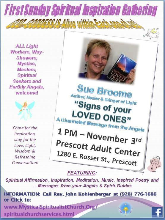 Signs from your Loved Ones - Sue Broome