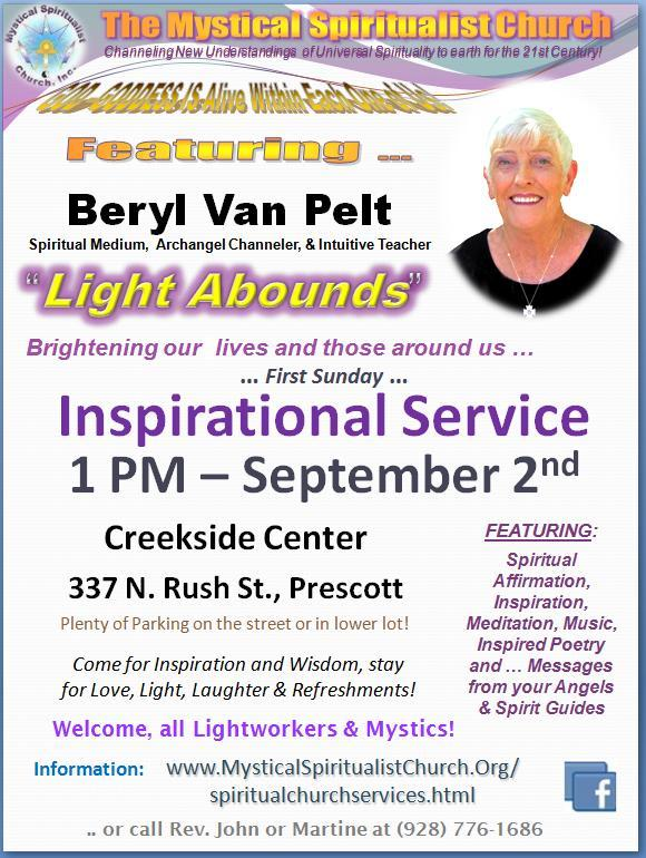 Spiritual Medium Van Pelt from the UK