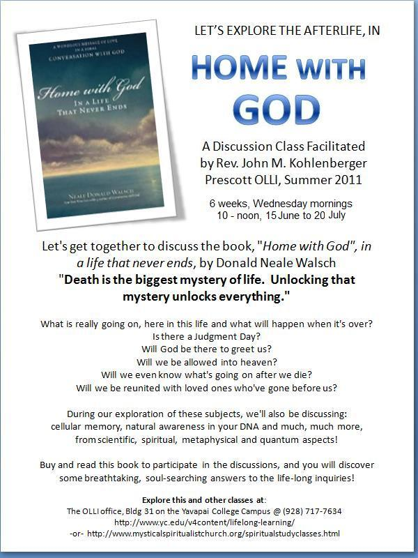 "Study & Discuss ""Home with God"" by Neale Donald Walsch"