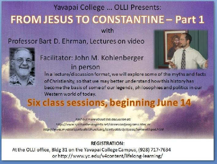 Christianity - from Christ to Constantine