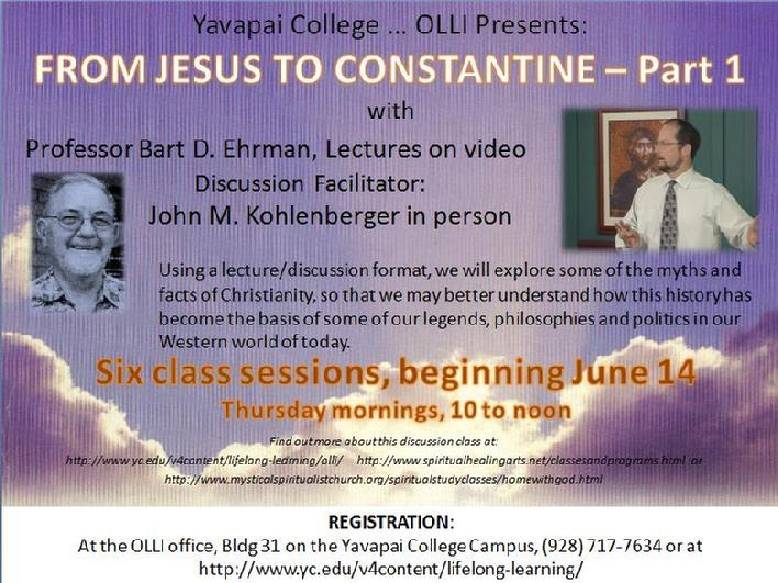 Jesus to Constantine - Discover the first 2 centuries of Christianity